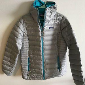 EUC Patagonia down puffer jacket